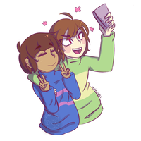 Hanging out by Mama-snubby-da-hobo