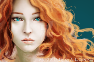 W.I.P. Red Lioness by ARRIAthelion