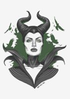 MALEFICENT version 1 by DarkTinebra