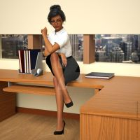 Digital Beauty Series - Secretary (feb17) by Digital-Beauty-Serie