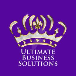 Ultimate Business Solutions Logo by charlythepearl