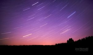 Star trails by JoniNiemela