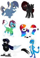 Adopted Ponies 114 by FrostEquinoxx