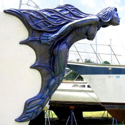 MERMAID FIGUREHEAD - PROFILE by KIHLSTUDIOS