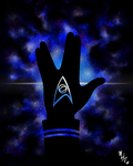 Memory of the Stars: Live Long and Prosper by insanity-pillz