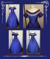 Civil War Evening Gown by Gewandfantasien
