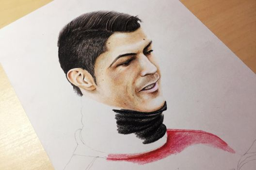 Cristiano Ronaldo ( Portugal outfit in progress ) by Gutter1333