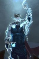Thor son of Odin. by Mauw-than-one