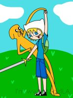 Finn n Jake by wweM5girlLA