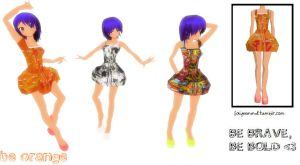 MMD Outfit K002 by FaiyeeMMD