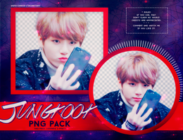 PNG PACK: JungKook (BTS) #4 by Hallyumi