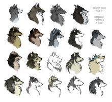 Werewolf characters 2. by WhiteRaven90