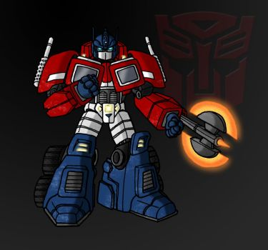 Optimus Prime by ZappaZee