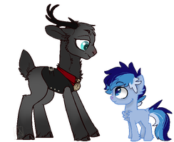 ''Who're you?'' [collab] by D-fenestrate