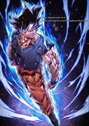 GOKU Ultimate Instinct color by marvelmania