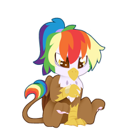 Feather's boo-boo By Fuyusfox by Q99