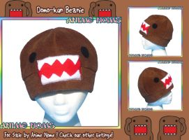 Domo-Kun Beanie by AnimeNomNoms