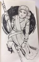Rey - Sketchbook Entry by rexevabonita