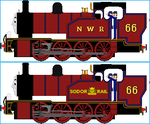 Ginny the SR Z Class Tank Engine by Galaxy-Afro