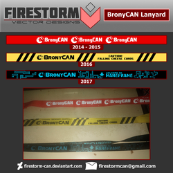 BronyCAN Lanyard History by Firestorm-CAN