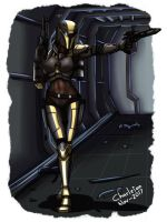 Commission: STAR WARS O.C. Keira by Charleian