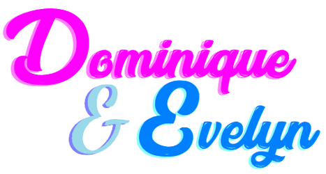 Dominique and Evelyn logo by terryrule17