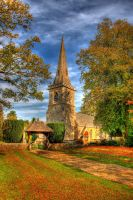 Church at Lower Slaughter by s-kmp