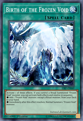 Birth of the Frozen Void by BatMed