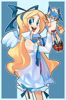 Flonne by geekysideburns