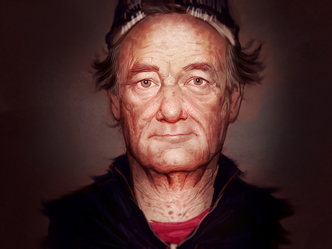Bill Murray by chunkslayer