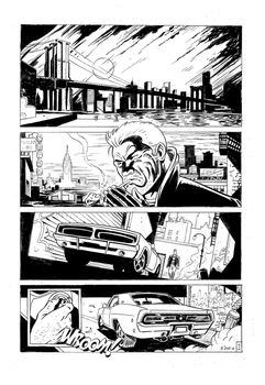 Hard Boiled Comic page. by Lazarus27