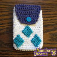 Rarity inspired phone pouch by ManifestedDreams