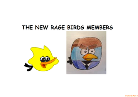 RBT S3 Ep. 7 The New Rage Birds Members Title Card by Mario1998