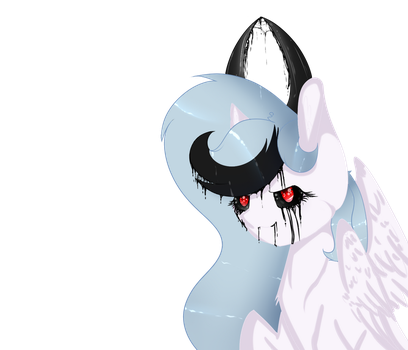 MLP Inky, Bad Side by GalaxySwirlsYT