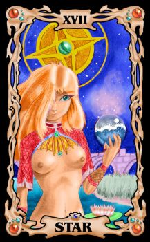 P.E. Tarot Challenge-Nudity by clarence-mcgraw