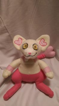 Hearts Shinx Fleece Plush by LittleNii
