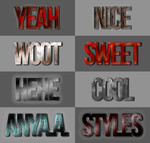 First Styles Set, by xx-Anya