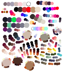 Color palettes by RaidioactiveVampy