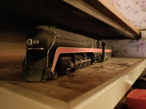Bachmann Spectrum NW J 4-8-4 #610 by Shiplover444
