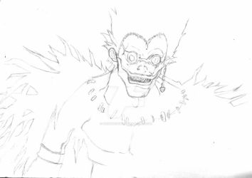 [WIP] Death note : Ryuk by SeishinChan