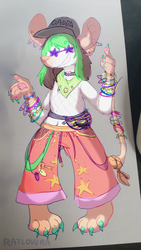 DRAW YOUR FURSONA IN THIS OUTFIT CHALLENGE by Ratlovera