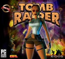Tomb Raider 1 - Game Cover by JhoCorrea
