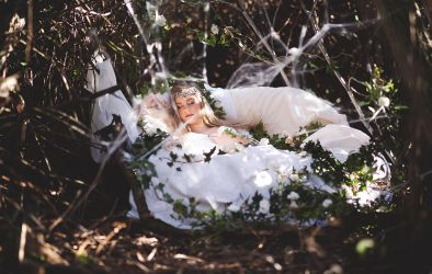 Sleeping Beauty by CloudyDayPhotography