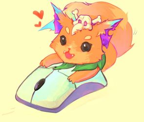 Gnar so cute, had to draw by Pistachii