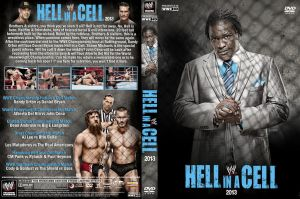 WWE Hell in a Cell 2013 DVD Cover V1 by Chirantha