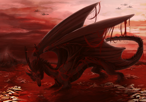 Blood Dragon by Mariester