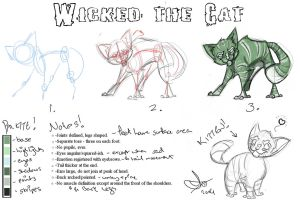 Wicked the Cat, mark 2 by vimfuego