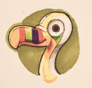 Tropical Toucan by MVRH