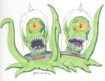 Kang and Kodos by RobertMacQuarrie1