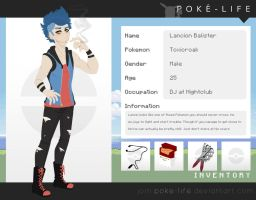[ Poke - Life App ] Lancion Balister by Shark-Queen